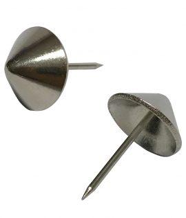 Clavo metalico cabeza conica estriado 16mm